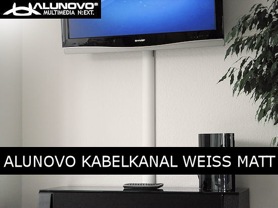 design kabelkanal mattweiss ral9016 wandweiss l nge 40cm kabel verstecken ebay. Black Bedroom Furniture Sets. Home Design Ideas