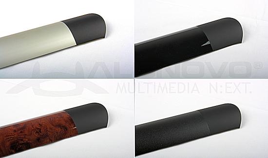 tv design endkappe f r alunovo aluminium kabelkanal. Black Bedroom Furniture Sets. Home Design Ideas